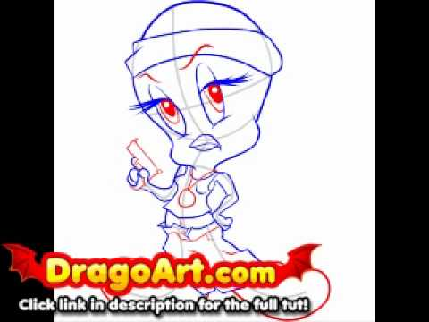 Learn to draw tweety online