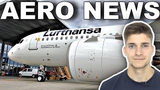 LUFTHANSA mit Einheits-Weiß & 787?! AeroNews