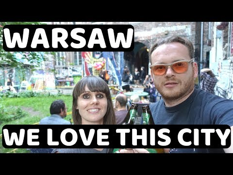Welcome to WARSAW, POLAND!!! - One of Our FAVOURITE Cities in the World!!!!