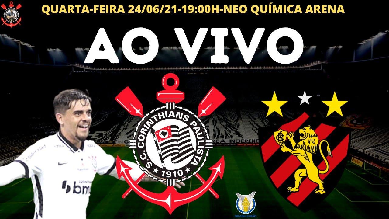 Corinthians x Sport Recife (AO VIVO) Campeonato Brasileiro
