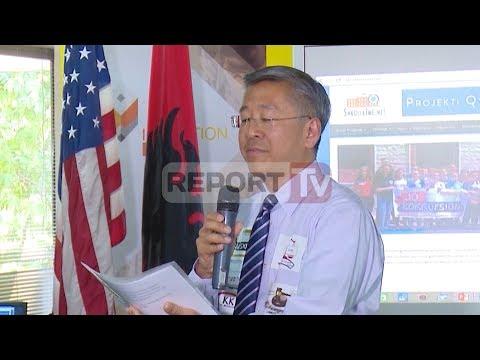 Report TV - Donald Lu:Kërkoni,nëse qeveria nuk ju përgjigjet, ju e rrëzoni atë