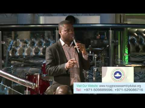 Pastor GBOYEGA SHITTA @ RCCG Grace Assembly Dubai