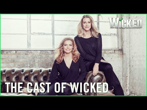 Wicked UK | Behind-the-scenes with Alice Fearn (Elphaba) and Sophie Evans (Glinda)