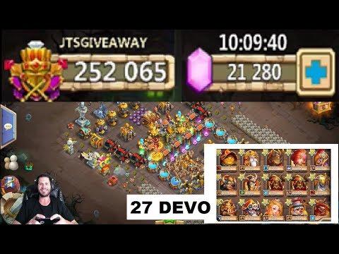 Best Account Giveaway Castle Clash HAS EVER SEEN GOODLUCK!