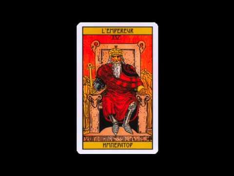 Карта таро Император Tarot Card The Emperor
