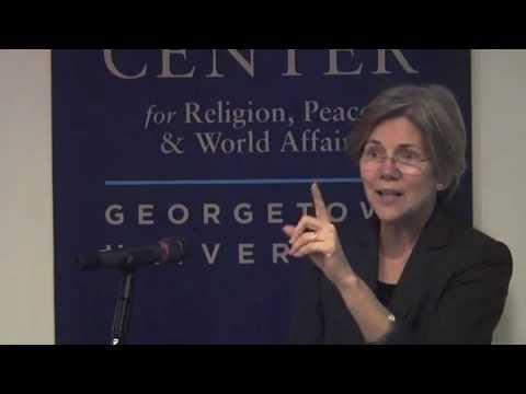 Values and the Economic Crisis (with Elizabeth Warren)