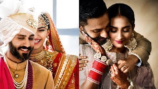 Sonam Kapoor And Anand Ahuja's FIRST Wedding Cover | VOGUE Magazine