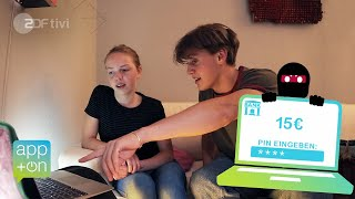 Geld weg?! Betrügerische Phishing-Mails - App+on | ZDFtivi