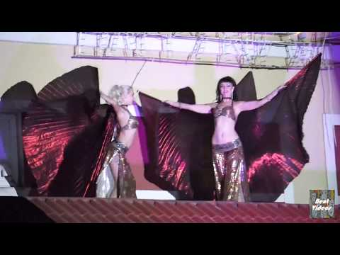 Belly dancing || performance by Russian artist ||