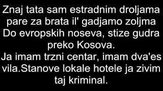 THCF feat. COBY - IDEŠ ZA KANADU TEKST !!!