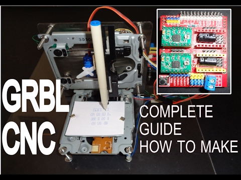 How to make GRBLCNC V3 Shield Arduino based Mini CNC