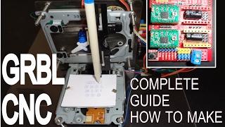 vuclip How to make GRBL+CNC V3 Shield+ Arduino based Mini CNC machine a Complete Giude