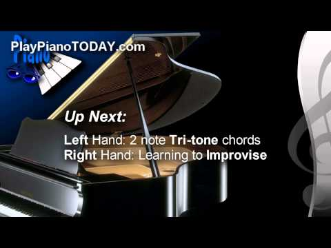 Blues Piano Lessons - How to Improvise in 5 Steps