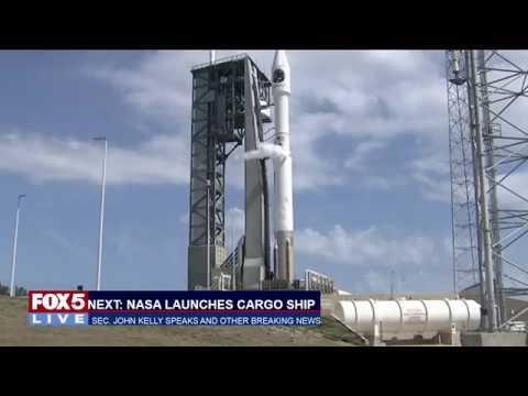 FOX 5 LIVE: NASA launches the S. S. John Glenn; Sec. John Kelly speaks at GWU live