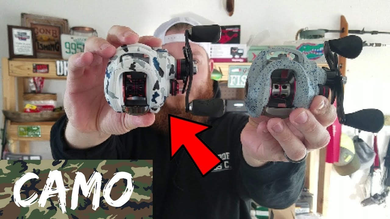 Custom Painted Fishing Reels! (These Things are SWEET!)