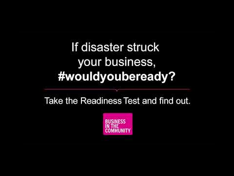 Would you be ready for a disaster?