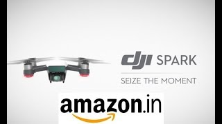 DJI spark Drone on Amazon.in at 52k