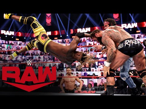 The New Day & Damian Priest vs. The Miz, Elias & Jaxson Ryker: Raw, April 26, 2021