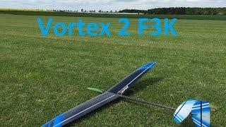 Vortex 2 F3K DLG Slowmotion Launch