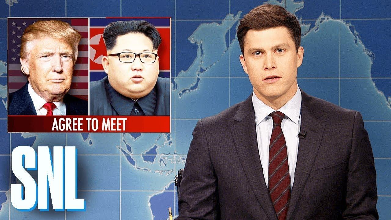 Weekend Update on Kim Jong-un Meeting with Donald Trump – SNL