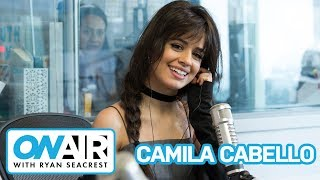 camila cabello signature sign off on air with ryan seacrest