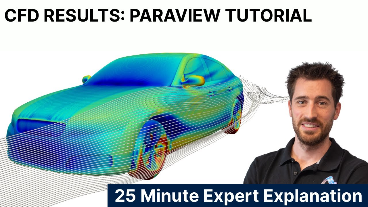 CFD Results - How to analyse OpenFOAM data with ParaView - 25-minute Tutorial