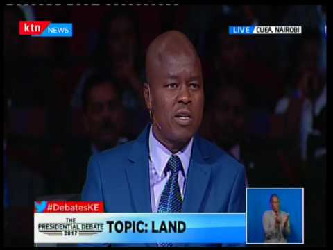 The Presidential Debate 2017- Raila Odinga addresses Kenyans pt 2