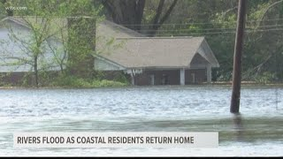 Flooding Along the SC Coast and Into NC