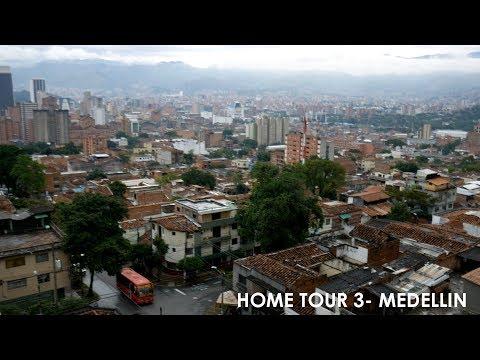Home Tour 3- Medellin, Colombia