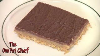 Chocolate Peanut Butter Slice - Recipe
