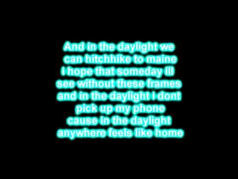 Daylight - Matt & Kim (Lyrics)
