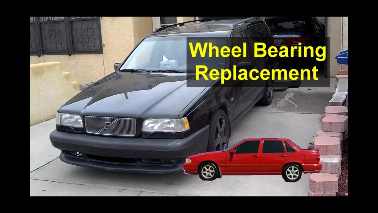 Front Wheel Bearing Hub Replacement Volvo 850 S70 V70