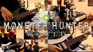 Monster Hunter World goes Rock - Rotten Vale battle theme