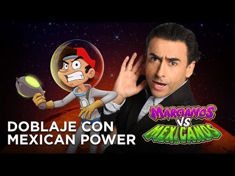 Marcianos Vs Mexicanos Doblaje Con Mexican Power Youtube
