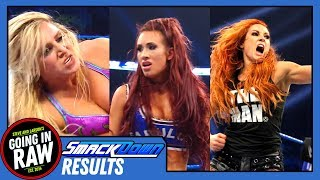 WWE Smackdown Full Results & Review | Who Faces Asuka At Rumble? | Going In Raw Podcast