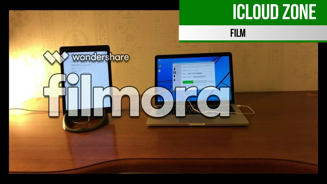 ICLOUD UNLOCK VIDEO SUCCESS ALL IOS[[FILMORA SOFTWARE]]