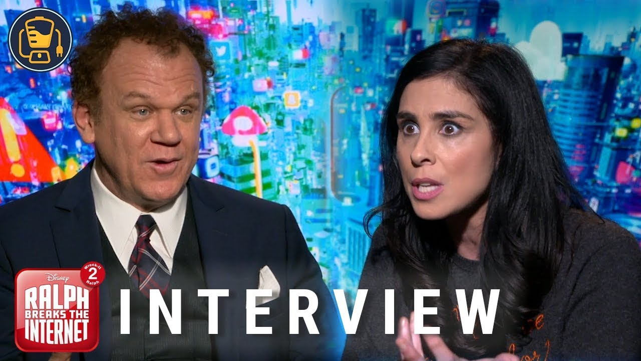 Sarah Silverman And John C Reilly Talk Ralph Breaks The Internet Wreck It Ralph 2 Youtube