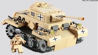 ЛЕГКИЙ, НО ТЯЖЕЛЫЙ ТАНК! Лего Военная академия #21