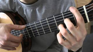 Cours de guitare - The POLICE : Roxanne (2/3) Grille A (on rajoute la basse)
