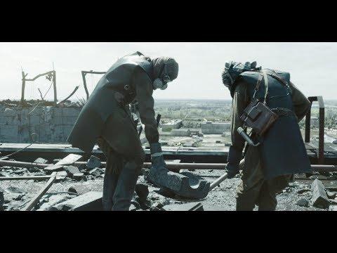 Чернобыль Chernobyl \ Биороботы на крыше энергоблока