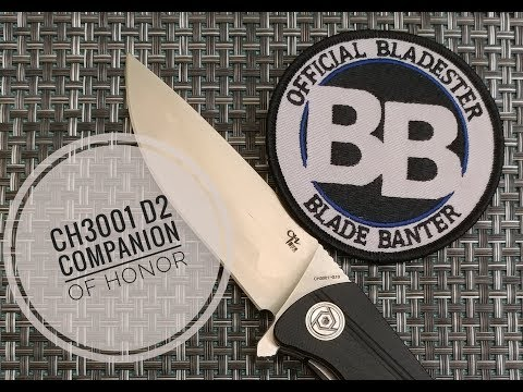 CH3001 G10 Knife Review CH (Companion of Honor)