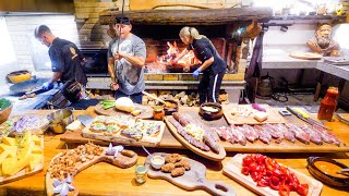 insane-food-in-romania-gigantic-medieval-bbq-mangalica-hairy-pig