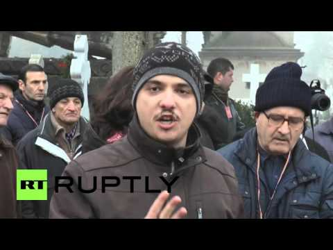 Romania: Comrades commemorate Ceausescu in Bucharest 26 years after execution