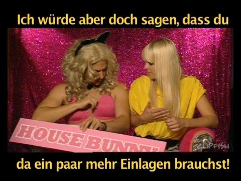 Anna Faris House Bunny vs Gerda-Shelley...