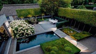 Modern Small Backyard Garden Design - Inspirational Backyard Landscaping