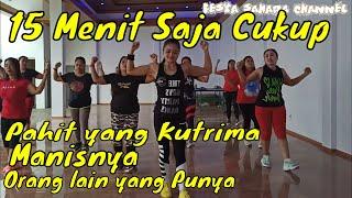 Download Senam pemula mudah hanya 15 menit lagu malaysia terbaru   fesya sahara aerobik
