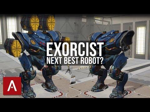 War Robots Test Server 3.5: NEW Exorcist Robot - Inquisitor on STEROIDS!