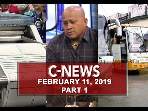 UNTV: C-News (February 11, 2019) PART 1