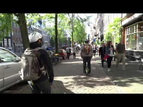 Elektrisch Vervoer Amsterdam:  Op De E-Wheel Door De Stad.
