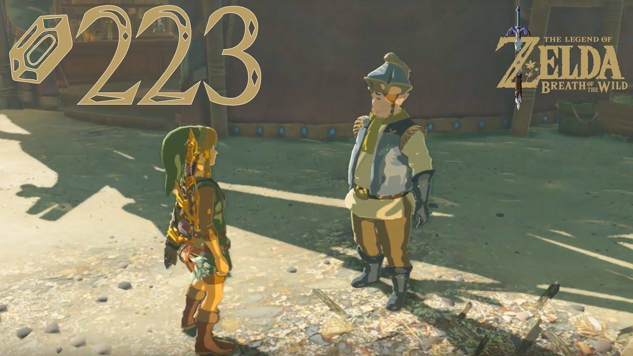 The Legend Of Zelda Breath Of The Wild 223 Die Konigliche Kuche Youtube